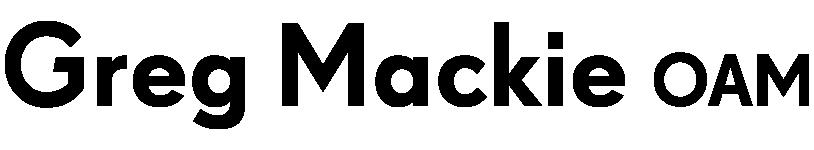 Greg Mackie OAM