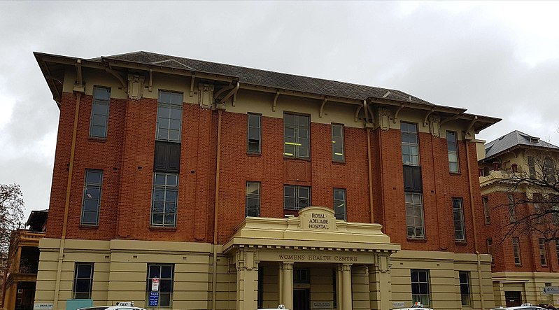 Exterior of the Old Royal Adelaide Hospital